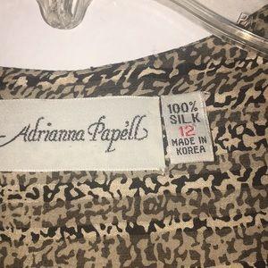 My Barely worn 💯 Silk Sheer dress by Adrianna Pa'